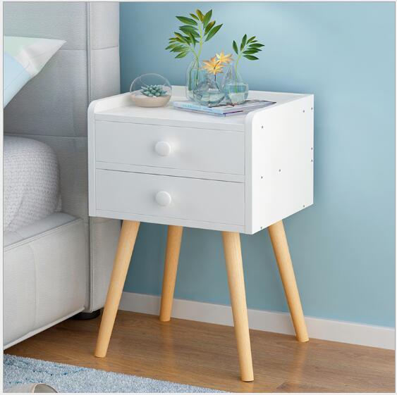 2019 Bedside Cabinet Nordic Wind Bedroom Storage Cabinets Bedside Cabinet  Modern Simple Storage Cabinet Bedside Cabinets From Meow_householdes, ...