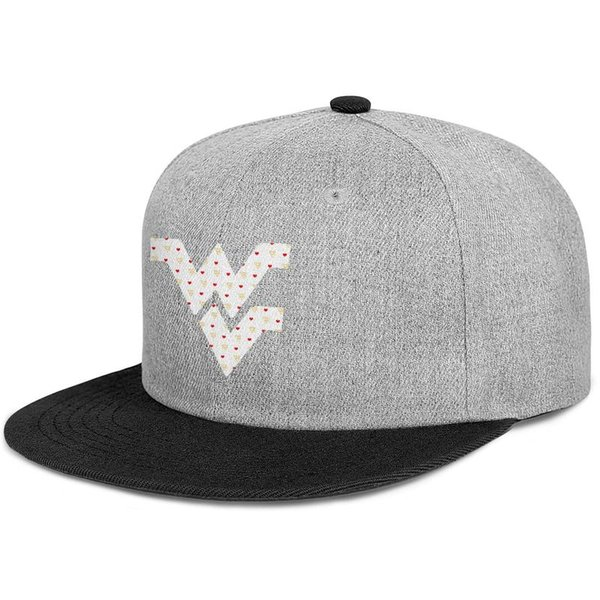 exquisite style price reduced good quality West Virginia Mountaineers Basketball Logo Heart Black For Men And ...