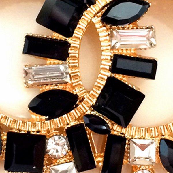 Femmes Lettre C De Luxe Broche Bling Bling Cristal Designer Broche Costume Épinglette Pour Cadeau Partie Célèbre Broche Bijoux Accessoires