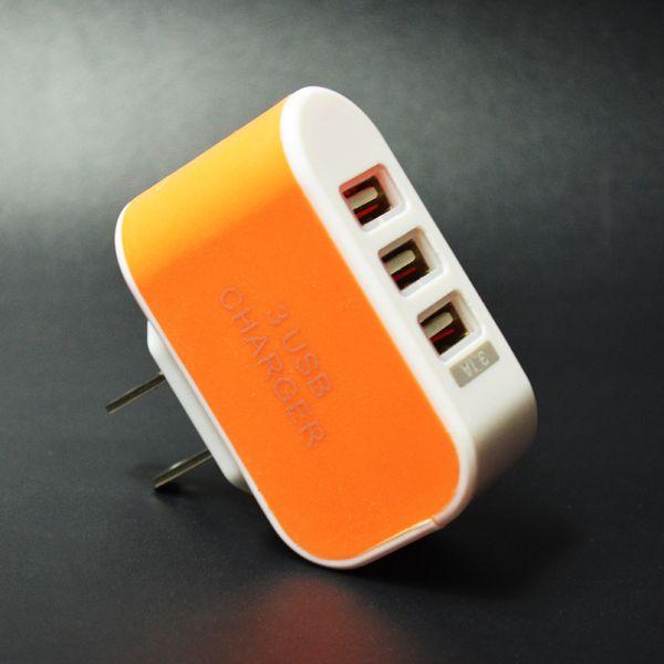 US Plug_Orange