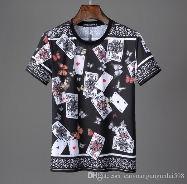 Homme Marques de haute qualité C-D-G jouer tee Comme des Garçons coton impression noir coeur tees hommes femmes ASPERGÉ DE T-Shir blanc occasionnel encre