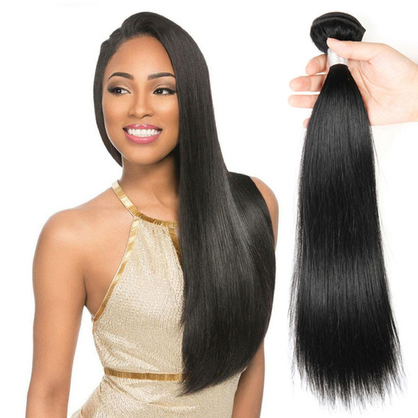 8A Chinese Straight Hair 100% Virgin Human Hair Bundles cheap Remy Hair Extension Natural Color 4 Bundles Wholesale Deals