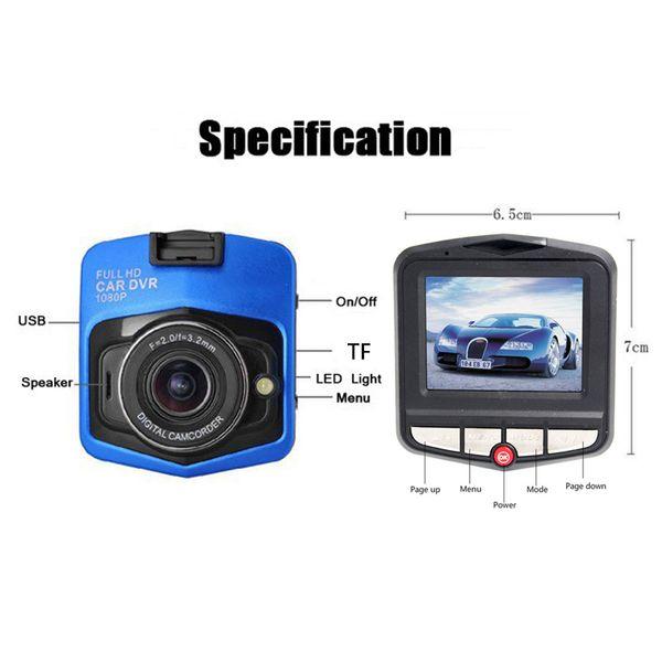 GT300 Original Mini Auto DVR Kamera Dashcamera Full HD 1080 P Video Registrator Recorder Nachtsicht Zyklus Aufnahme Dash Kamera