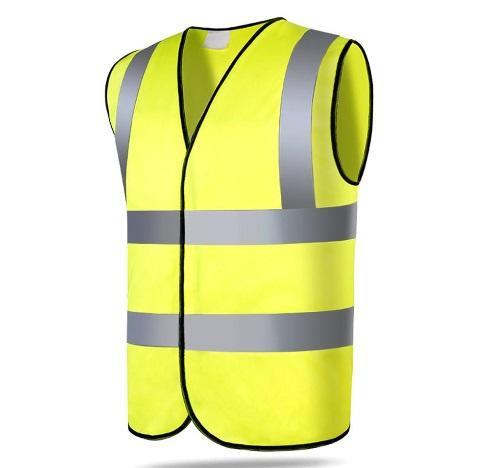 Veste de sécurité jaune haute visibilité
