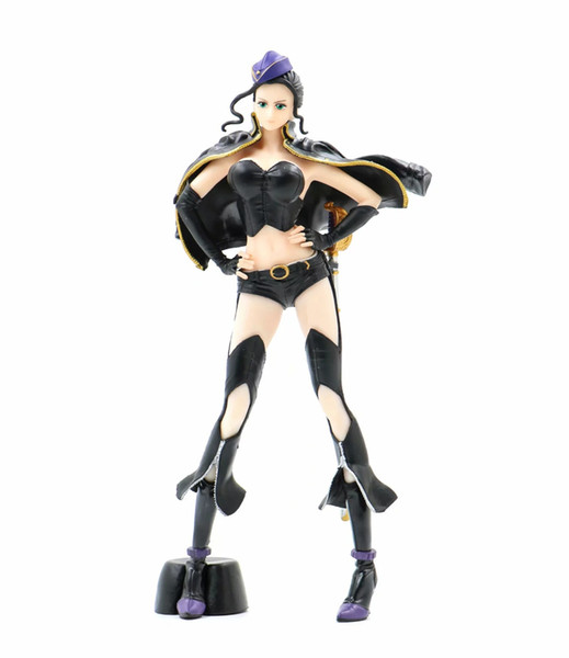 25cm sexy One Piece Nico Robin Miss Allsunday Action figure toys doll Christmas gift with box