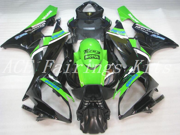 New Injection Mold ABS motorcycle fairings fit for YAMAHA YZF R6 2006 2007 YZF R6 06 07 bike fairing kits custom black green