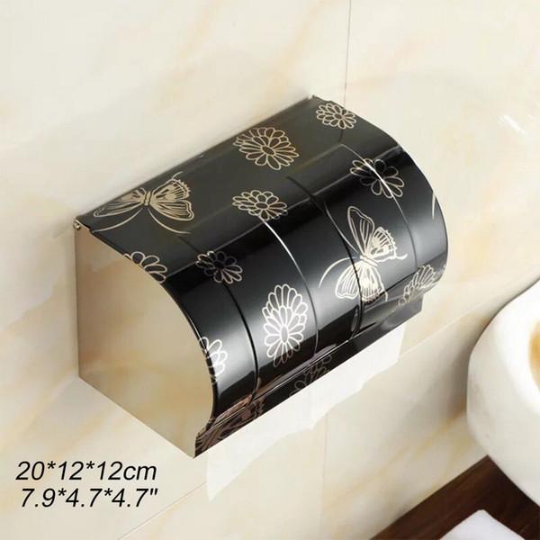 Manufacture Stainless Steel Bathroom Bathro Paper Towel Waterproof Wall Recessed Paper Holder Bathroom Industrial Toilet Paper Holder ZJ0719