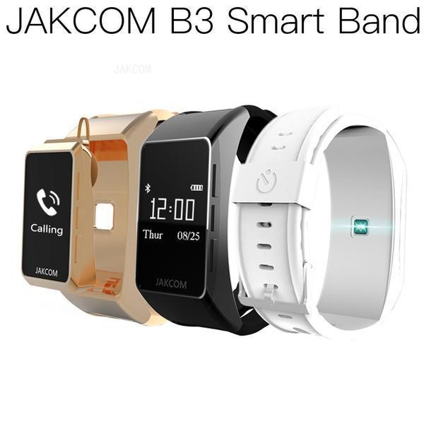 JAKCOM B3 inteligente reloj caliente de la venta de pulseras inteligentes como Qaud b57 SmartWatch reloj automático