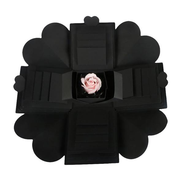 Fashion Unique Explosion Gift Box DIY Surprise for Scrapbook Photo Album Valentines Day