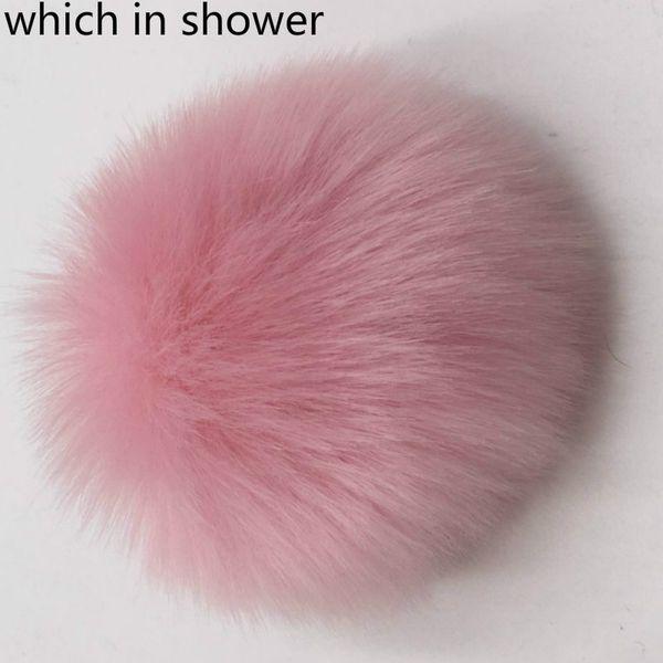 Hangi duş Faux Fox Kürk Ponpon Topu Için DIY Kış Şapka Kasketleri Ayakkabı Çanta Atkılar ile Sahte Kürk Pom Pom Ponpon Pin