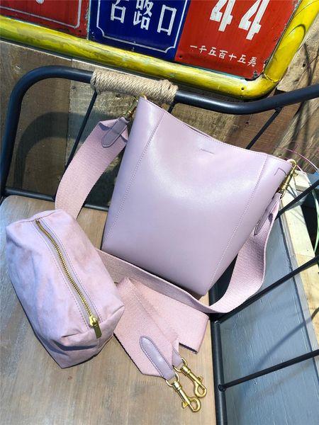 Sac à main de marque de luxe en cuir voyage sac seau sac haut de gamme en cuir de qualité nouvelle mode sac à bandoulière