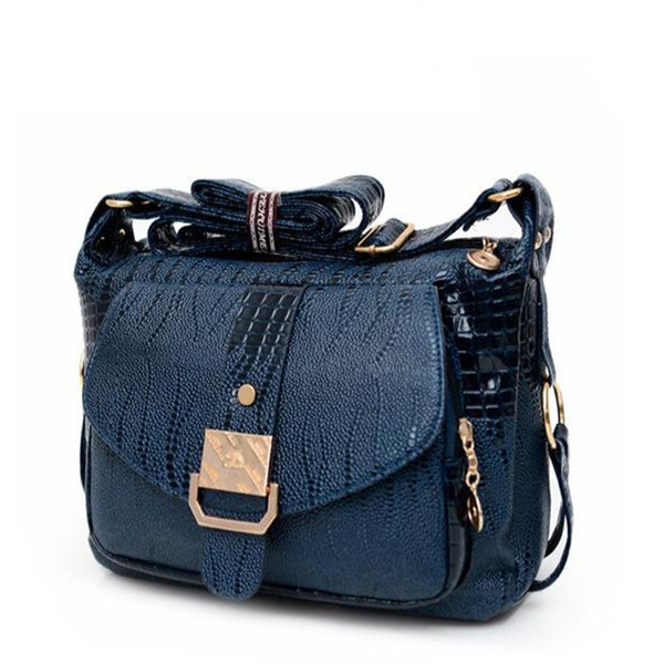 2019 good quality Factory Women Messager Bags Fashion Pu Leather Shoulder Bag For Mom Causal Hobos Crossbody Bag Women Handbags Bolsas