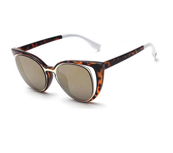 742faeeefaa5e 2019 Novo Famoso Óculos De Sol Da Marca de Luxo Mulheres Moda Óculos de Alta  Qualidade Proteção UV Elegante Óculos de Olho De Gato Designer de Moda  Óculos ...