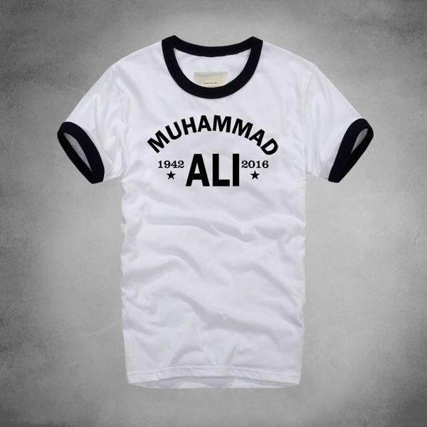 moda urbana Muhammad Ali Camiseta Mma roupa casual para homens Maior Academia de manga curta Impresso camiseta Plus Size Homme Y200104