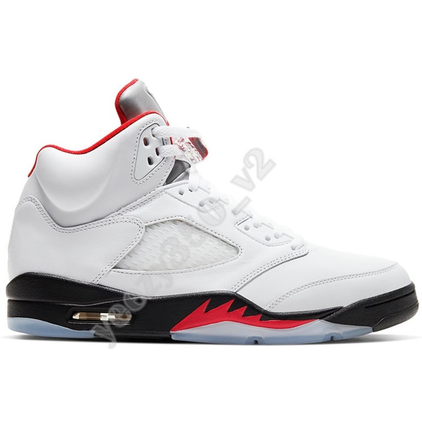# 49 5S Fire Red Silber Tongue (2020)