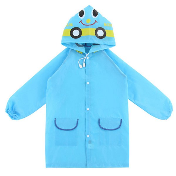 1Pcs New Cute Waterproof Kids Rain Coat For children Raincoat Children's cartoon poncho boy girl Animal Style Raincoat HG0419