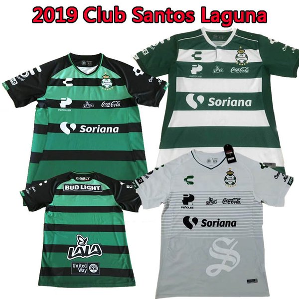 pretty nice fa830 416a5 2019 2019 Santos Laguna Mexico Home Away Football Shirt 19/20 Club Santos  Laguna Adult Blue White Game Training Shirt Football From A913876700,  $18.79 ...