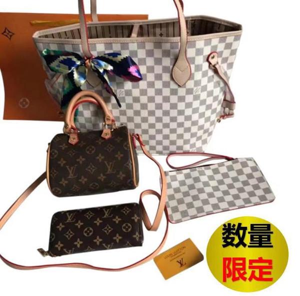 ТОП Дизайнерская сумочка розовый sugao 5 цвет плед 4 шт. Набор моды роскошные ресницы дизайнерская сумка сумка леди сумка сумка