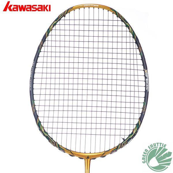 2017 Five Star 100% Original Kawasaki Top Quality Badminton Racket Professional Force Carbon Fiber Raquette Badminton