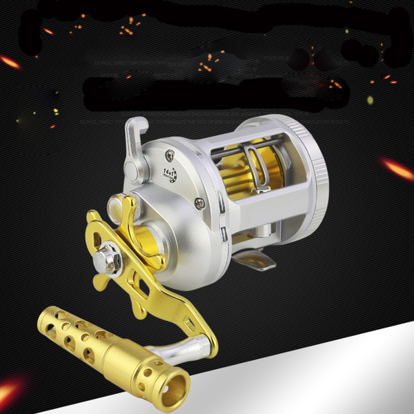1000-4000 series trolling reels 14+1bb metal handle conventional jigging big game fishing reel for saltwater sea fishing thumbnail