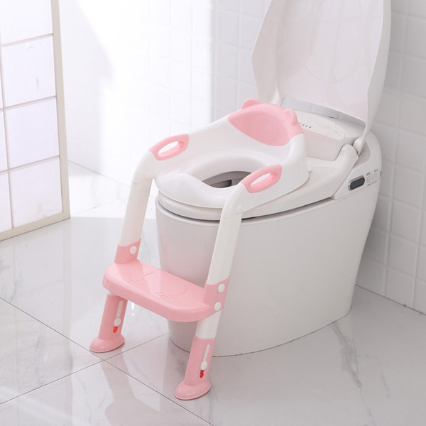 Excellent 2019 Olding Baby Infant Kids Toilet Training Seat With Adjustable Ladder Portable Urinal Potty Training Seats For Children Folding Baby Potty From Spiritservingveterans Wood Chair Design Ideas Spiritservingveteransorg