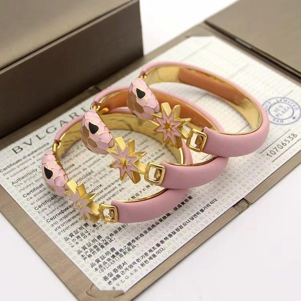 2019 brand designer brand snake bracelet ladies party wedding bracelet lovers jewelry jewelry wholesale