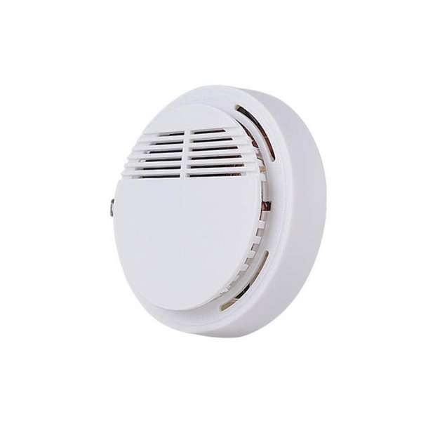 best selling 2021 Smoke Detector Alarms System Sensor Fire Alarm Detached Wireless Detectors Home Security High Sensitivity Stable LED 85DB 9V 500pcs