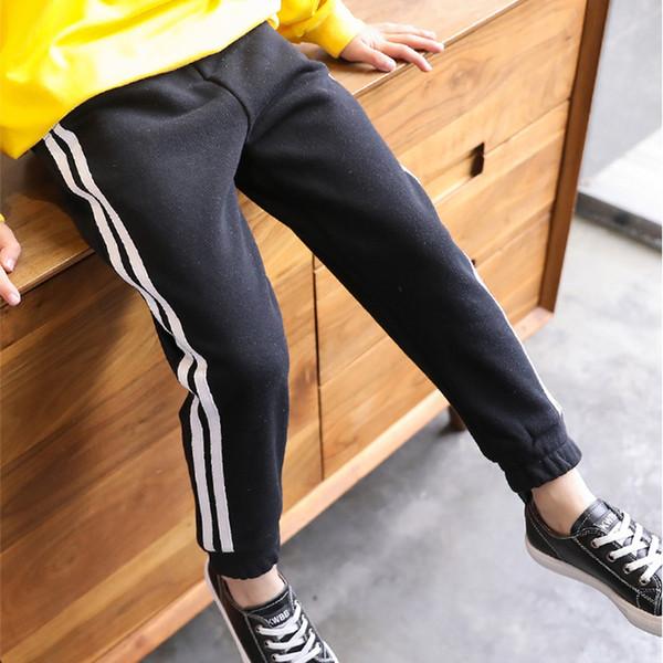 Pantaloni lunghi dei ragazzi pantaloni di cotone per i pantaloni pantaloni della tuta di cotone ragazzi primavera bambini autunno Sport abiti bambini DCT035