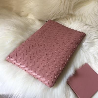 Neue Schaffell-Handtasche handgemachte gesponnene Umschläge Massenhandtasche-Handtasche-Leder-Geschäft für die Mann-Frau