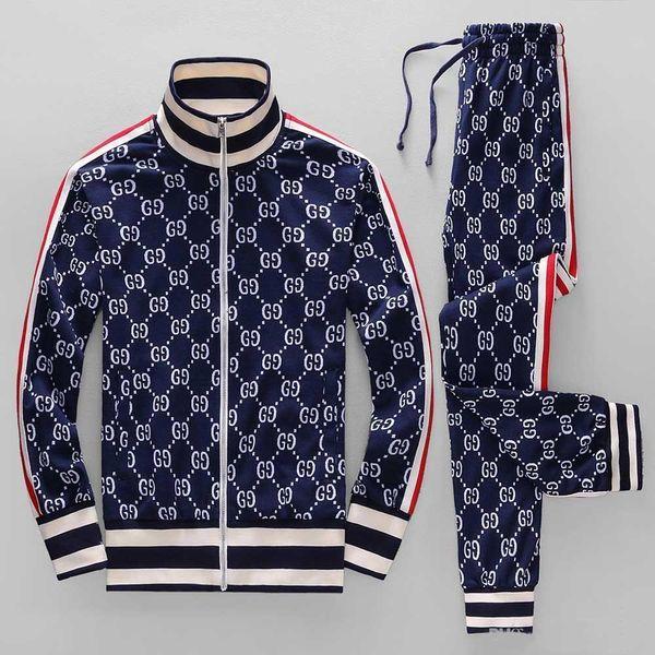 chen13692335256 / Nagelneue Art und Weise Trainingsanzug-Qualitätsmänner Frühling und Herbst Rüttlersport coat + pants Freizeit Hoodies jacket + pants der heißen