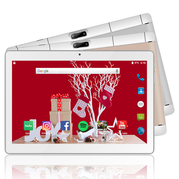 10.1 Inch tablet Android 8.0 4G+64G Storage 2MP+5MP Camera 3G Phone call tablet Dual SIM Card
