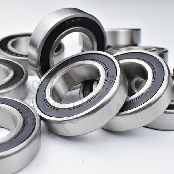 top popular 6005RS 1Piece bearing metal sealing bearings chrome steel deep groove bearing 6005 6005RS 25*47*12mm free shipping 2021