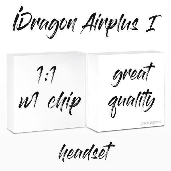 Meilleure qualité Airplus EP019 iDragon Touch Control TWS Bluetooth 5.0 Écouteurs Mini sans fil Écouteurs pop-up fenêtre musique blanche casque iphone