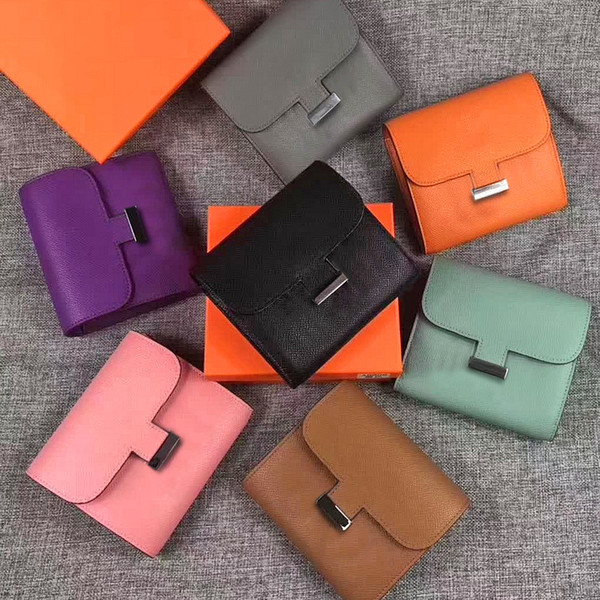 2019 Fashion designer Women Wallets Brand Leather Purse Ladies Card Bag For Women Clutch Female Purse perfect quality hot