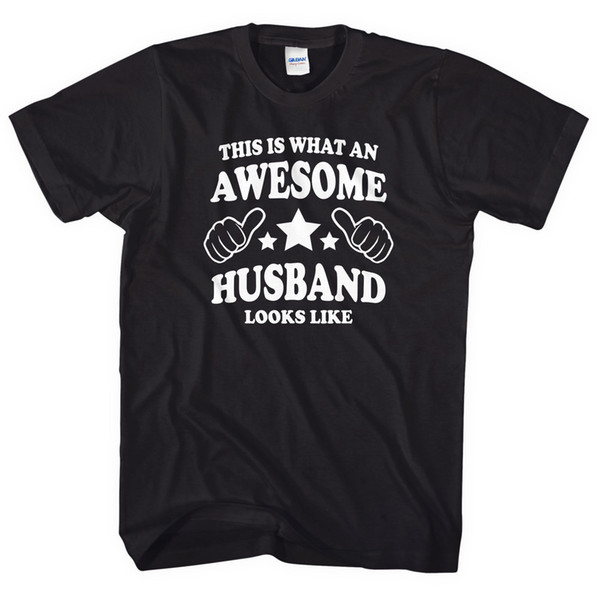 This is what an awesome Husband looks like t-shirt Valentines Day Gift Him L177 High Quality Tops New 2018 Hot Summer Hipster O-Neck Casual