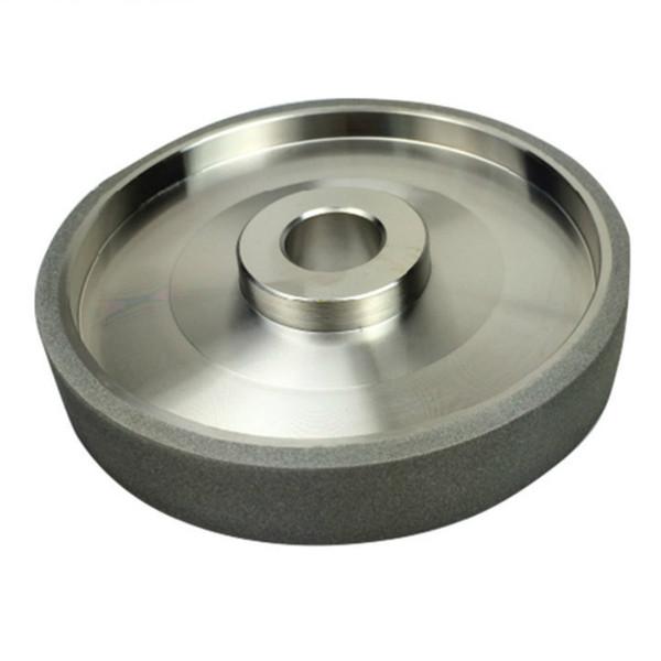 best selling 150 Grit CBN Grinding Wheel Diamond Grinding Wheels Diameter 150mm High Speed Steel For Metal stone Grinding Power Tool