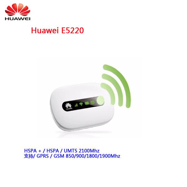 Unlocked Huawei E5220 Vodafone R206 21.6Mbps 3G HSPA+ UMTS 900/2100MHz Wireless Router Pocket WiFi Mobile Hotspot PK B970b E586