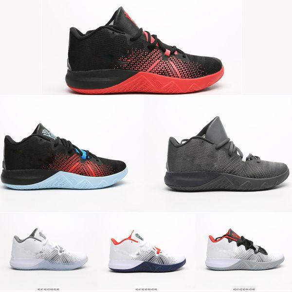 Top Chaussures de basket-ball designer Irving Hommes Red Zoom de base en direct Ii Kay Yow Ep Créer Boston-thème Flytrap Low Oxford Chaussures de sport Chaussures de sport Vente