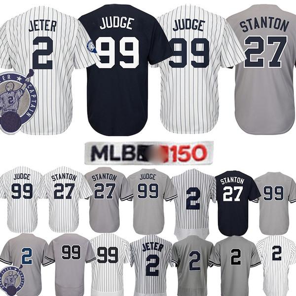 official photos c96e5 d4c76 2019 99 Aaron Judge Baseball Jersey Yankees Jersey 2# 27# Baseball Jerseys  2019 New Men Top Quality Racksuit From Ball_2019_jerseys, $22.05 | ...