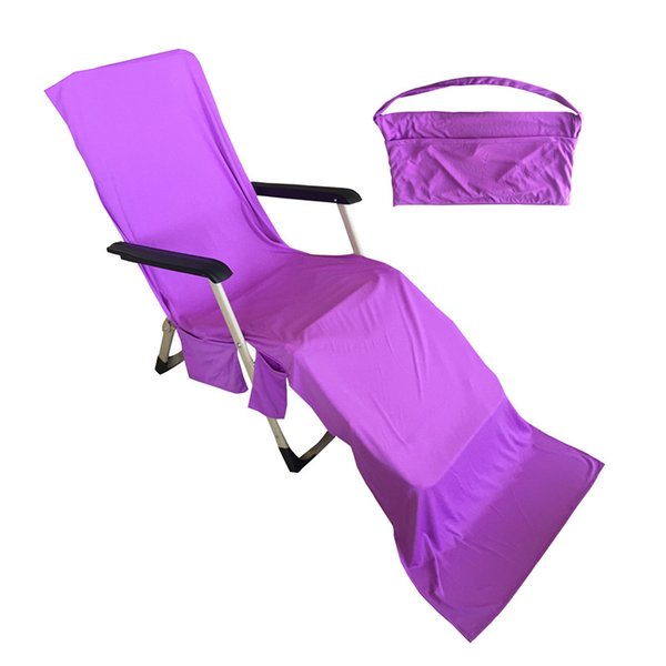 Chair Beach Towels,Purple