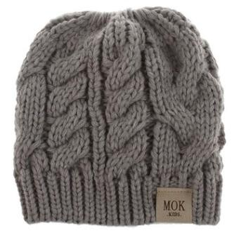 #5 knitted beanie hat