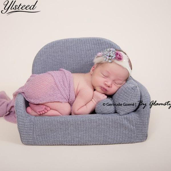Neonato Mini Posing Divano Cuscino Set Sedia Decorazione Bambino Fotografia Accessori Neonato Studio tiro puntelli Q190521