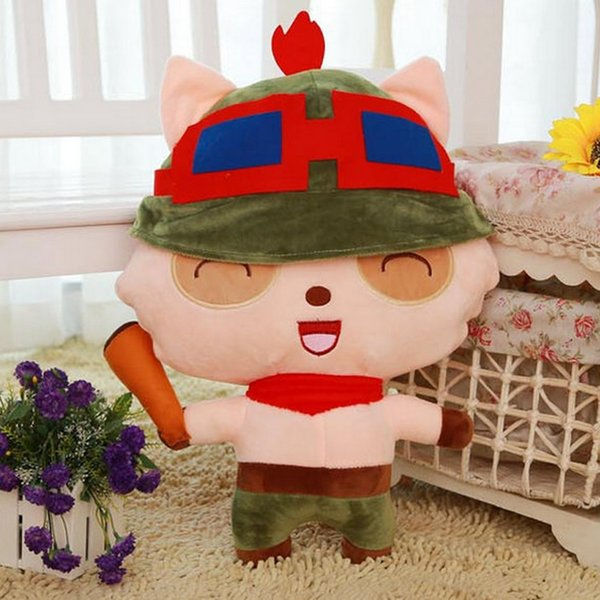 20170611 LOL League Plush Toys Doll 20-35cm LOL Teemo Plush Toy Dolls The Swify Scout Plush Soft Stuffed For Children Kids Gifts