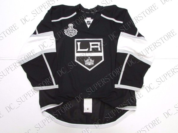 check out 51e11 51cb3 Cheap Custom LOS ANGELES KINGS HOME TEAM ISSUED 2012 STANLEY CUP JERSEY  Stitch Add Any Number Any Name Mens Hockey Jersey XS 5XL UK 2019 From ...