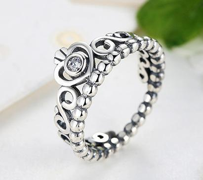 30% silver crown ring