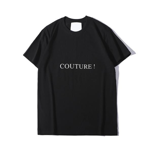 Mens Designer T Shirt Verão Marca Letras Imprimir T Shirt Dos Homens de Luxo T de Manga Curta Estilo Casual Respirável Mulheres Tops S-2XL