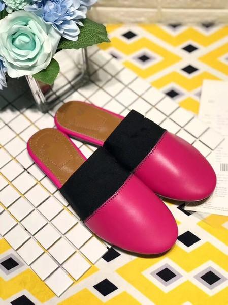 Designer de ouro das mulheres sandálias de bloqueio ocasional verão chinelos Mocassins sapatos baixos de couro de couro de pele de cobra sandálias de slides hs18090106