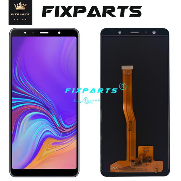 6.0 '' LCD para Samsung Galaxy A7 2018 A750 LCD SM-A750F A750F Pantalla táctil Asamblea de digitalizador Reemplazar para SAMSUNG A750 LCD