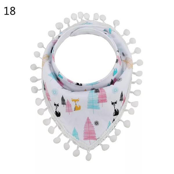 1pc MOQ Princess Girls Cartoon Baby Bibs Baby Infant Boy Clothes Kids Girls Burp Cloths Newborn Feeding Floral Lace Baby Triangle Bibs