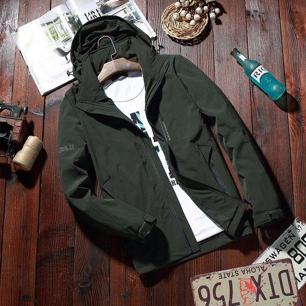 NIANJEEP Hot Sale Mens Coats and Jackets Brand High Quality Streetwear Male Jacket veste homme puls size 5xl